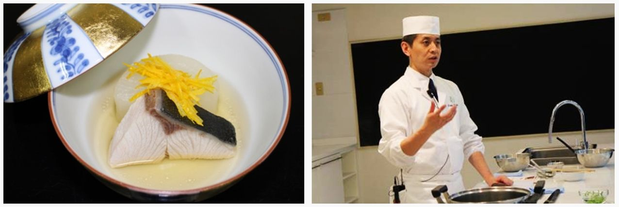 Japanese Cooking Class lectured by 'Japanese Cuisine Goodwill Ambassador' was held in Bangkok!
