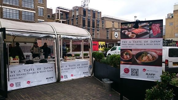 "London had an event called TRY A ""TASTE OF JAPAN"" FREE SHABU SHABU & MISO SOUP"