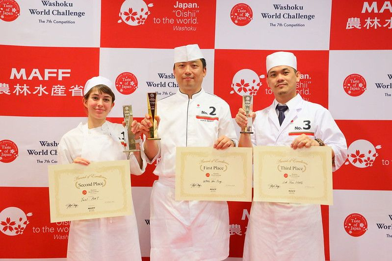 [Washoku World Challenge Final] The Winner Is WANG Wei Ping