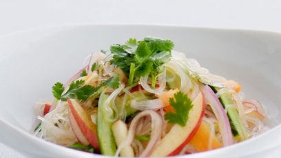 Bean Thread Noodle Salad with Apple
