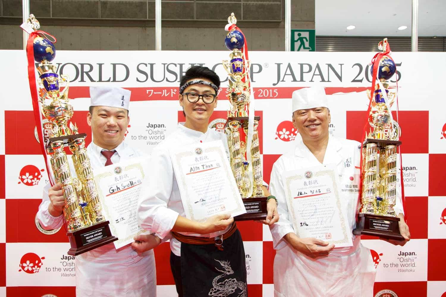 "World's best ""Sushi Chef"" Finals! 「WORLD SUSHI CUP® JAPAN 2016」 coming to Tokyo on August 2016!"
