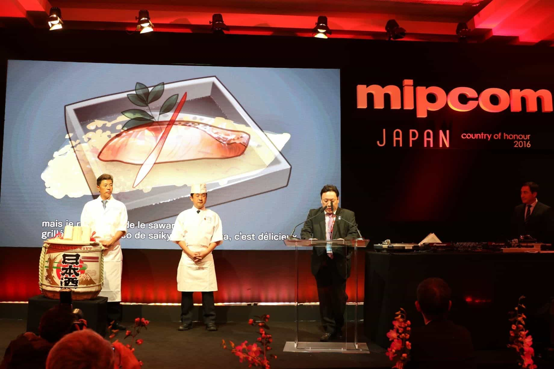 From Cannes to the world - the charm of Japanese cuisines is delivered! Report on mipcom, the world's biggest international entertainment contents market