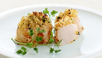 Herb-Roasted Scallops